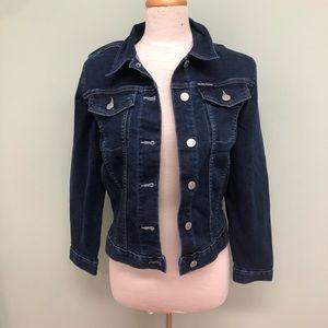 Calvin Klein Jeans Denim Jacket: Dark (PM1415)
